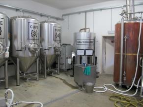 Atelier de production (Brasserie)