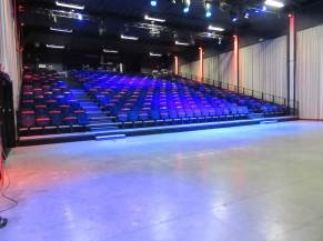 Auditorium en forme de gradin