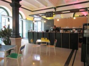 Hall d'Entrée du KVS et espace café