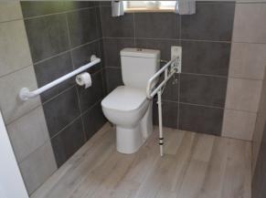 WC adapté à l'étage