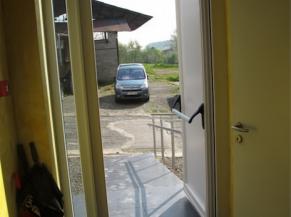 Libre passage de la porte d'entrée