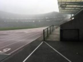 Vue sur l'intérieur du stade