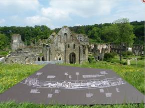 Point de vue sur les ruines