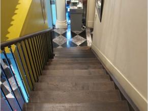 Escalier du bâtiment arrière