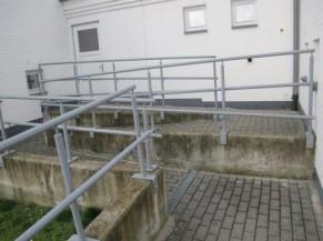 rampe d'accès - chemin alternatif