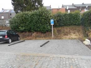 Parking adapté