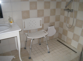 Siège de douche à disposition