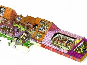 Plan du musée en 3 D