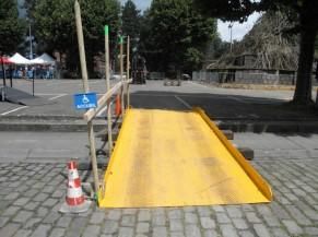 Rampe d'accès rue des canonniers