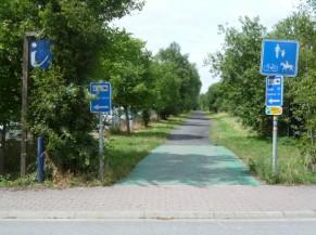 Circuit vélo à Herve