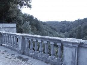 Panorama arrière château