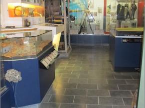 Circulations et maquettes du musée