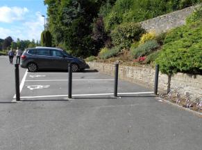 Parking réservé pour les personnes handicapées