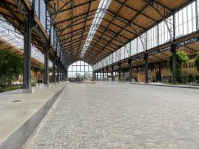 Vue générale de l'intérieur de la Gare Maritime