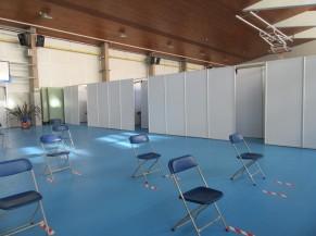 Salle de contrôle post-vaccination
