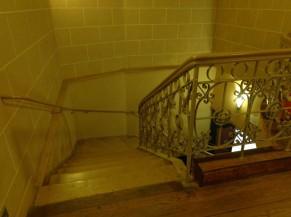 Escalier (vue du sommet)