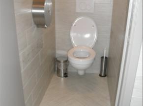toilette ordinaire salle dégustation en sous sol