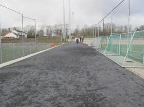 accès aux terrains de foot