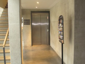 Ascenseur vers chambre PMR