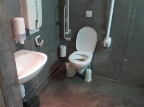 WC à l'intérieur