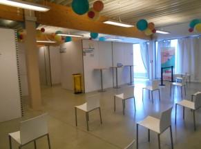 """Salle d'attente """"après"""" vaccination"""