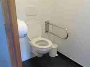 Toilette non adaptée à Regare