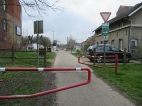 Double barrière rouge à franchir
