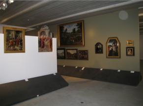 Une des salles de l'exposition permanente
