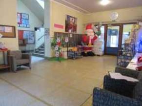 Hall d'entrée école