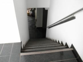 escalier salle nord