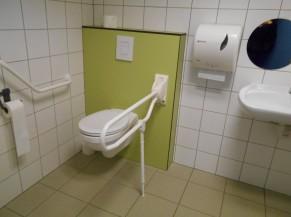Intérieur du WC PMR