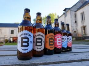gamme des bières
