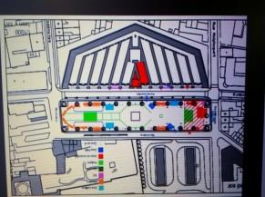Plan place Nerviennne