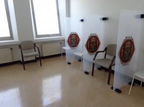 Salle d'attente réservée aux PMR