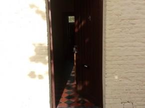 L'entrée de la maison ouvrière
