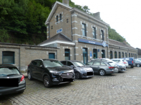 Parking de la gare de Rivage