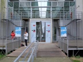 Palier et porte d'entrée