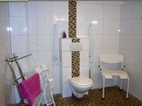 WC de la chambre adaptée