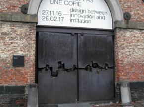 Porte d'entrée Salle des écuries