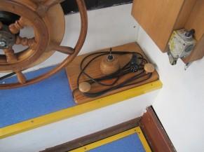 Joystick pour gouverner le bateau