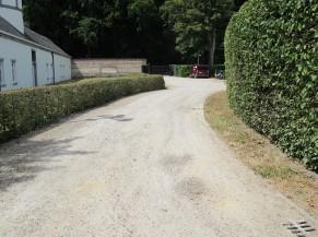 """Cheminement provenant du parking """"PMR"""""""