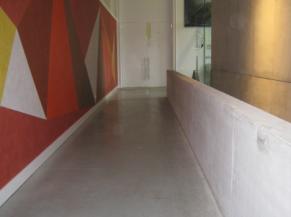 Couloirs d'accès à l'expo permanente