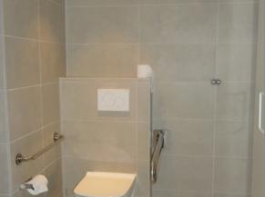 WC dans la chambre adaptée