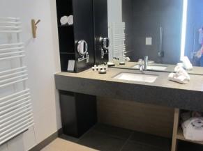 Chambre PMR (lavabo)