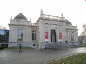 Façade d'entrée du musée