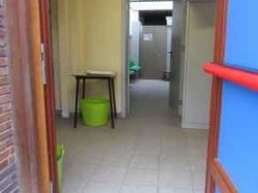 Hall d'entrée salle de sport