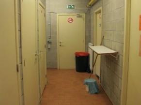 couloir - objets en saillie