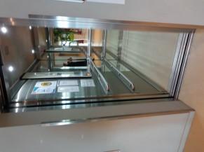 Soit via 2 ascenseurs