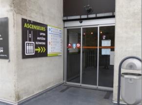 Porte d'entrée coulissante automatique