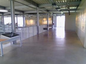 L'espace musée scénographique